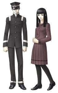 Raidou and Kaya